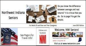 NWI Seniors.com Newspaper Image, seniors, information