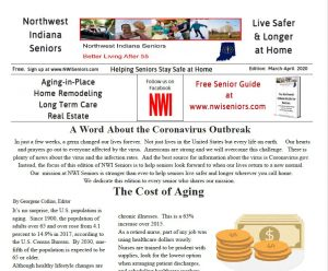 NWI Seniors March-April 2020 Newspaper Image