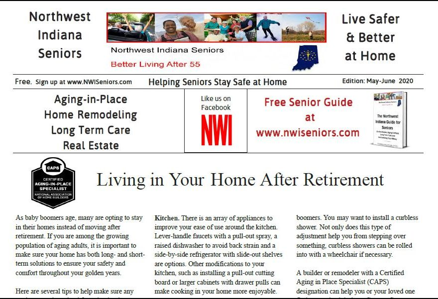 NWI Seniors Newspaper May-June 2020 Edition image